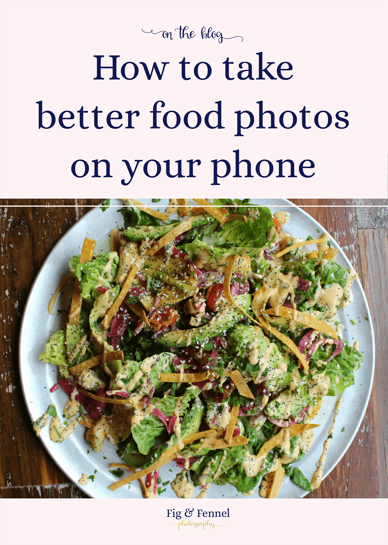 How to take better food photos on your phone
