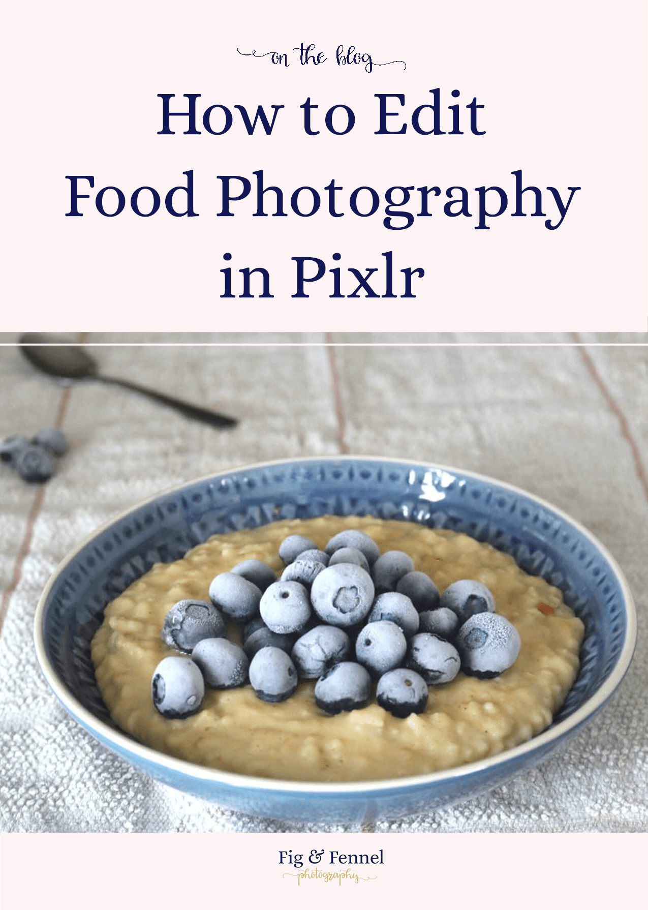 How to Edit Food Photography in Pixlr