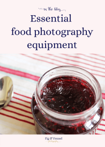 Essential food photography equipment: Building your kit