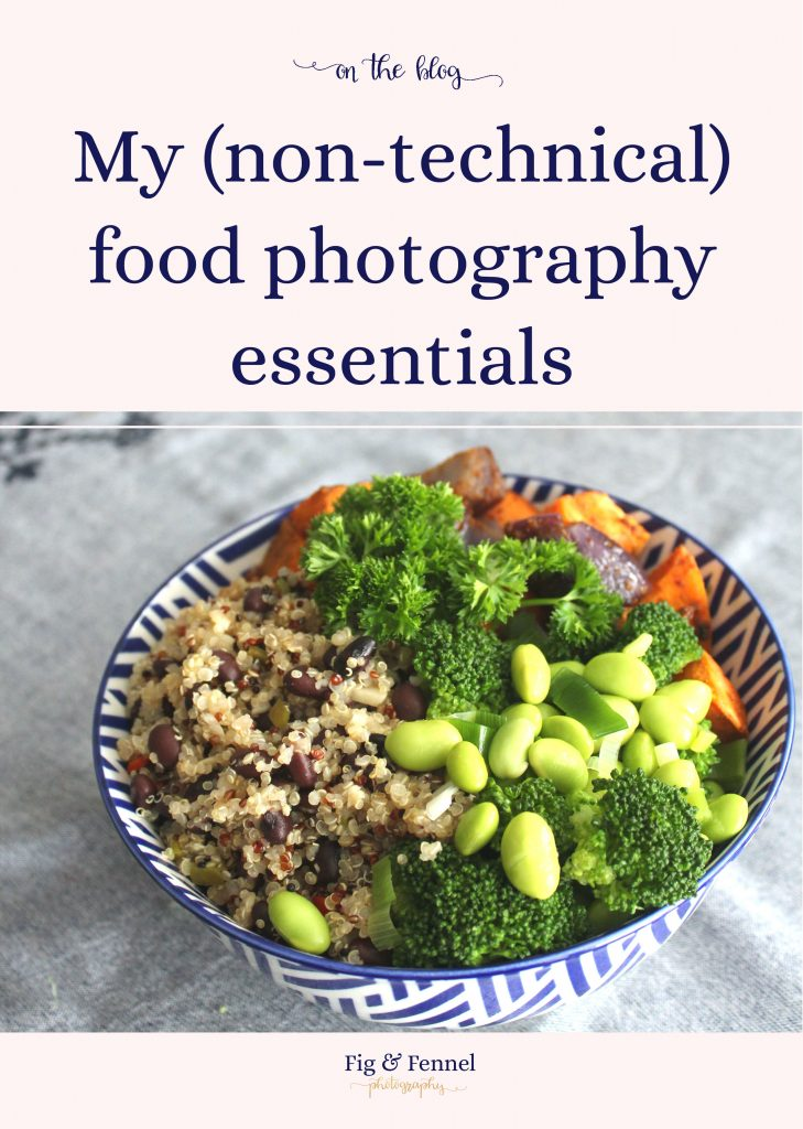 My (non-technical) food photography essentials